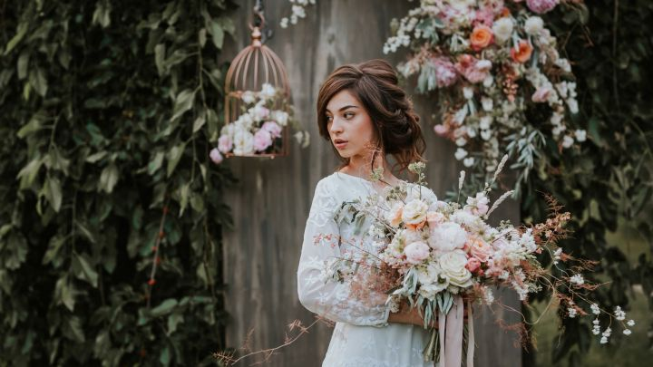 FLORAL DESIGN & OLASZPHOTO - STYLED SHOOT